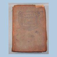 1908 Roycrofters Book White Hyacinths by Elbert Hubbard