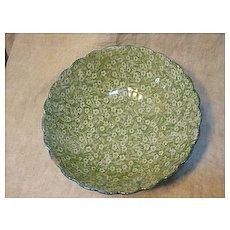 Green Calico Bowl?? Mark