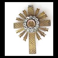 Cross Pendant Paste Stones