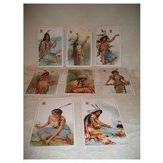 Indian Corn Flakes Postcards