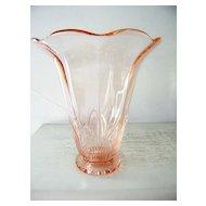 Large Pink CG  Glass Vase