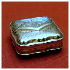 Sterling Silver Trinket Box with Hallmarks