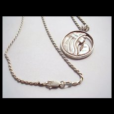M Kirk Sterling Necklace