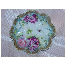 Gorgeous Hand Painted Porcelain Bowl