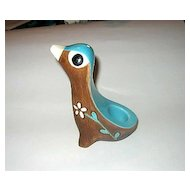 60s Ceramic Bird Holder