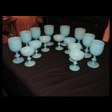 PV crystal ware  ???  Blue jadeite??