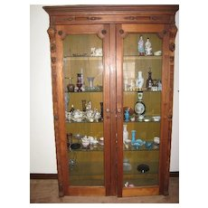 8' China cupboard hutch very large ???