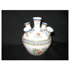 Henriot Quimper flower pot vase???? France
