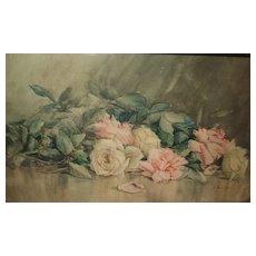 Beautiful Still Life Watercolor Painting