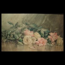 Beautiful Still Life Watercolor Painting