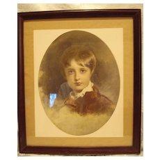 Braun Clement Childs Portrait Print