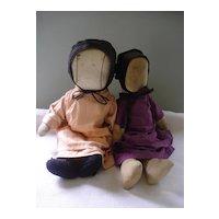 Old Amish Dolls