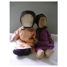 Old Amish Dolls