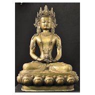 Lotus Sculpture statue resembling Lotus Spirit or Buddha