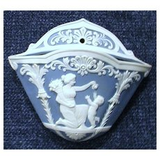 Wedgewood wallpocket