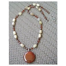 Artisan Carnelian Necklace