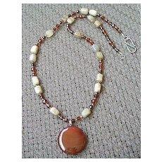 Artisan Carnelian Necklace