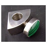 Malachite Jewelry Perfume Ring? by Judy K......?