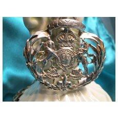 Royal Brass Pendant Necklace