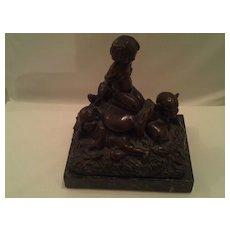 19th Century Irish Folklore Bronze