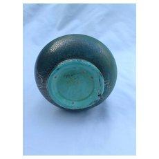"Green Blue Vase ""Marmor"""