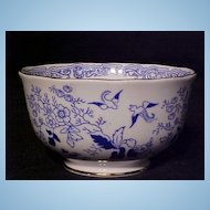 Royal Albert Mikado Blue Willow Waste Bowl c.1930