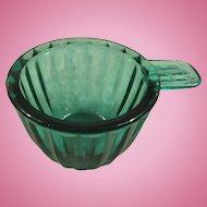 Jeannette Jennyware Ultramarine Measuring Cup, 1/4 Cup Size