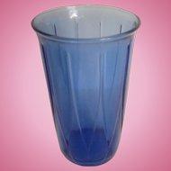 Newport or Hairpin Tumbler Cobalt Blue Hazel Atlas 1936-1940 Exc. Cond