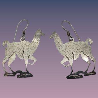 Llama Llama Vintage Earrings by Wild Bryde!