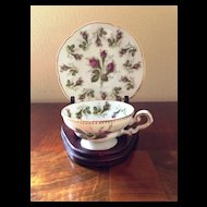 Rosebud Demitasse Set