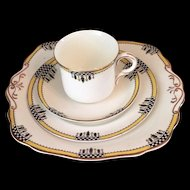 Vintage Four Piece Allertons Tea Set c.1929-42