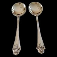 Pair of Hallmarked Sterling Jam spoons