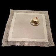 Hand Crocheted Lace Table Topper