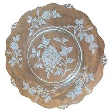 Eight Heisey Salad or Desert Plates