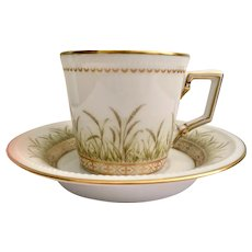 Elegant Danbury Mint Kaiser Demitasse Set.