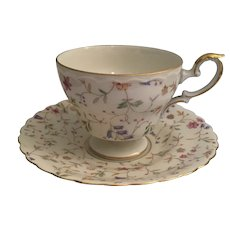 Kaiser Porcelain Tea Cup and Saucer