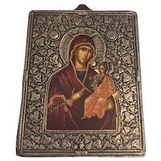 Miniature Greek Icon