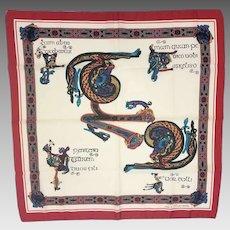 Book of Kells Celtic Design Scarf