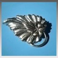 Danecraft Sterling Leaf Pin/Brooch