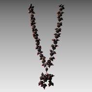 Fabulous Depression-Era Wooden Necklace