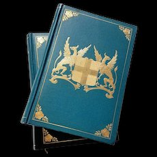 Two-Volume Antique Book: London, Historic and Social, by Francis