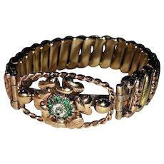 Louis Stern Sterling Silver and Gold-Filled Expansion Bracelet