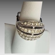 Sterling Silver Vendome Diamante Ring
