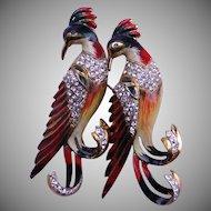 Coro COROCRAFT Sterling Bird Duette
