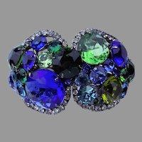 Robert SORRELL Huge Blue and Green Bracelet