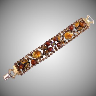 WEISS Mixed Stone Shades of Topaz Bracelet