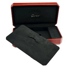 Large Cartier Jewelry Presentation Box Watches, cufflinks, Rings Storage