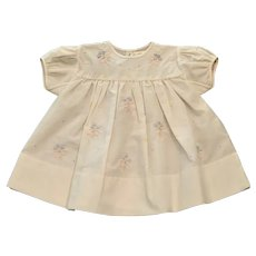 Girls Infant Handstitched Madeira Portugal Floral Bouquet Dress