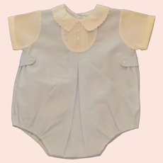 Children's Infant Baby Boy Size 0 Feldman Bros Bubble Romper