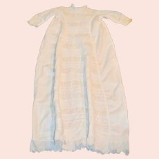 Antique Infants 1800's Ayrshire Heirloom Handstitched Waterfall Christening Gown